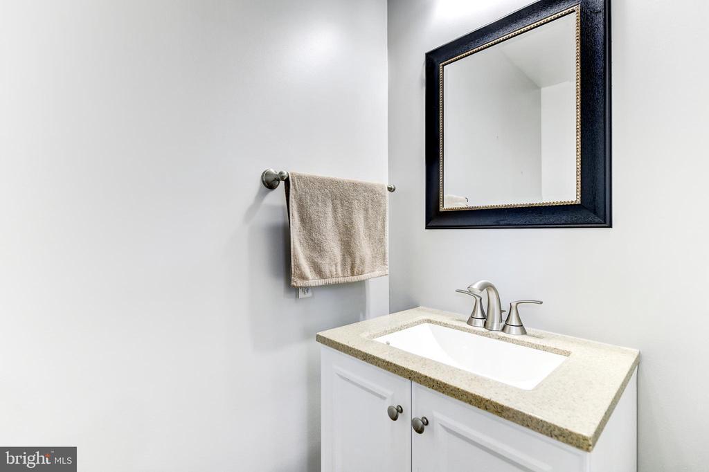 Half Bath on Main Level - 1215 INGRAHAM ST NW, WASHINGTON