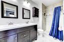 Master Bathroom - 1215 INGRAHAM ST NW, WASHINGTON