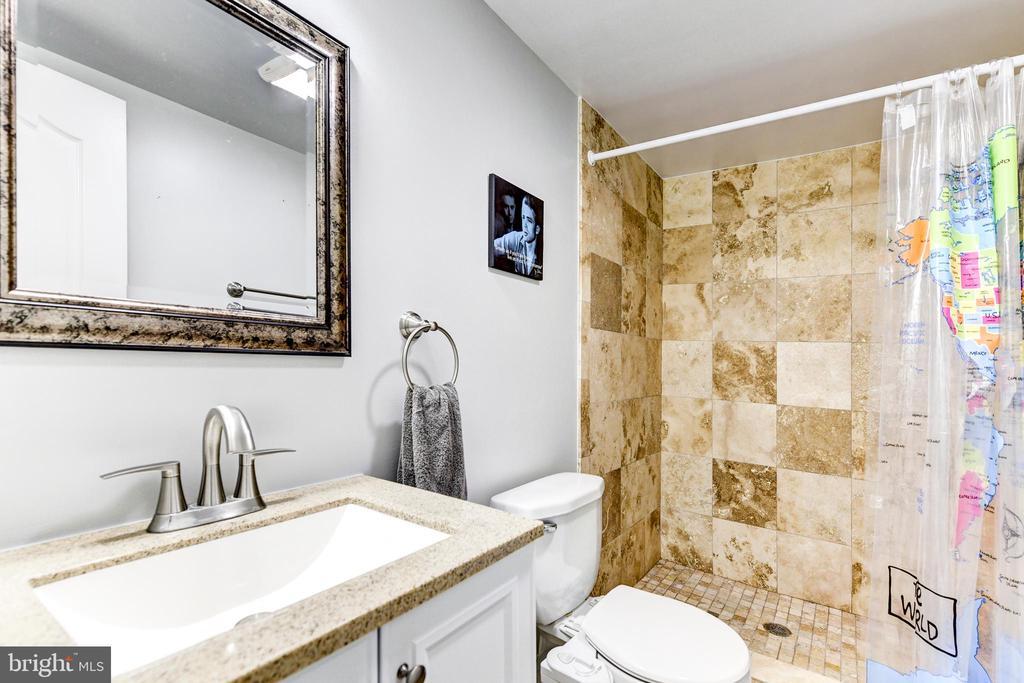 Basement Bathroom - 1215 INGRAHAM ST NW, WASHINGTON