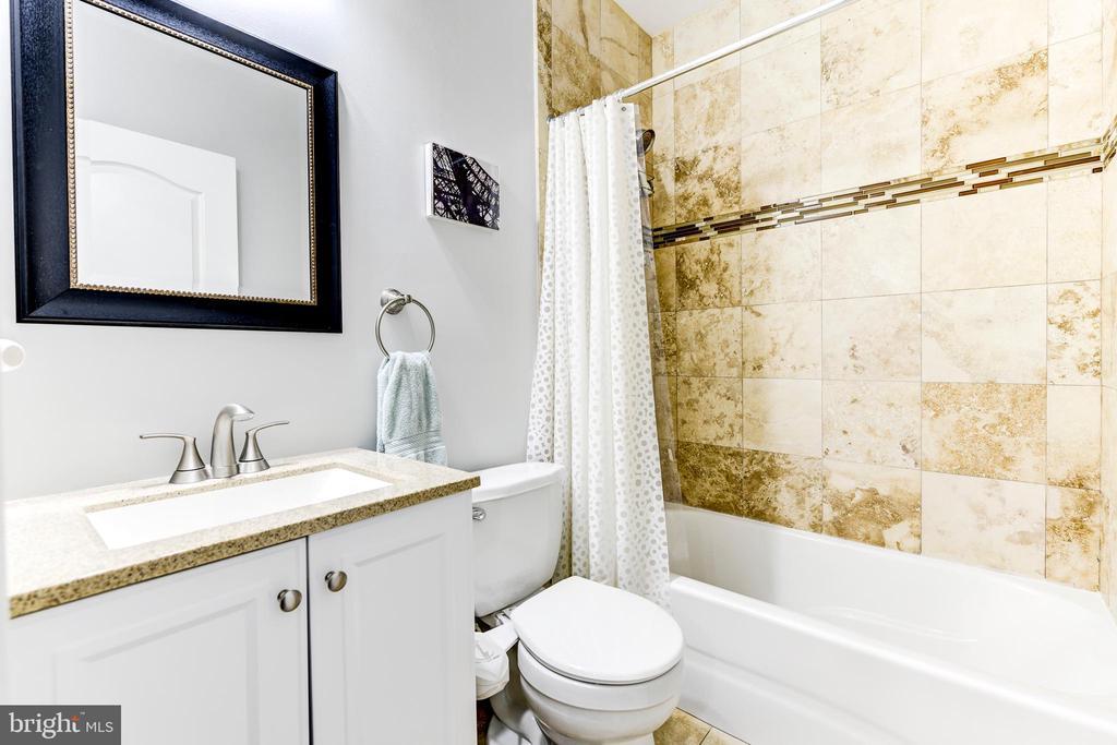 Hall Bath - 1215 INGRAHAM ST NW, WASHINGTON