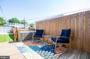 Backyard Deck - 1215 INGRAHAM ST NW, WASHINGTON