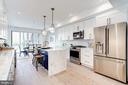 Newly Renovated Kitchen - 410 K ST NE #2, WASHINGTON