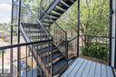 Exterior stairs - 410 K ST NE #2, WASHINGTON