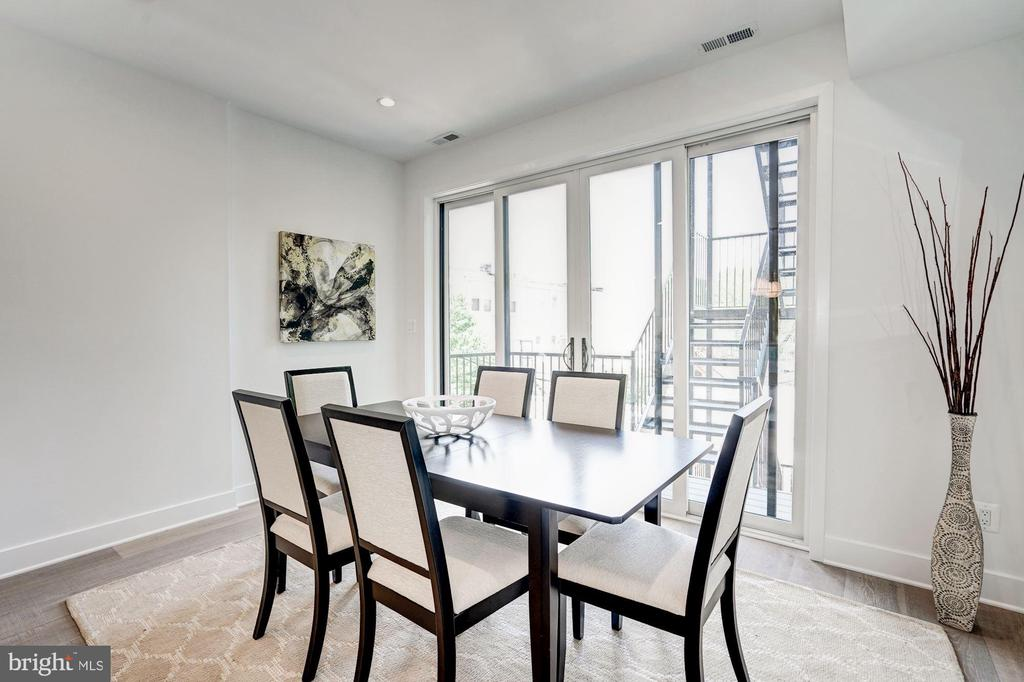 Dining Room - 410 K ST NE #2, WASHINGTON