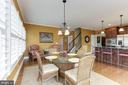 Breakfast Area - 15180 BANKFIELD DR, WATERFORD