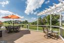 Rear Deck - 15180 BANKFIELD DR, WATERFORD