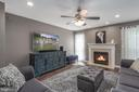 Recessed lighting in family room. - 31 AURELIE DR, FREDERICKSBURG