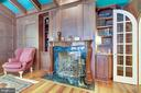 Office/Den/Study with 2 sided fireplace - 11552 MANORSTONE LN, COLUMBIA