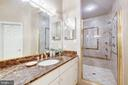 Owners bath  w/ walk in shower - 11552 MANORSTONE LN, COLUMBIA