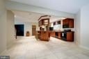 Lower level kitchen - 11552 MANORSTONE LN, COLUMBIA