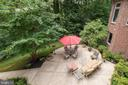 View of lower level patio area - 11552 MANORSTONE LN, COLUMBIA