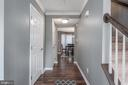 Professionally painted throughout the home! - 31 AURELIE DR, FREDERICKSBURG