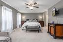 Bedroom 4 MASTER SUITE WOW! - 31 AURELIE DR, FREDERICKSBURG
