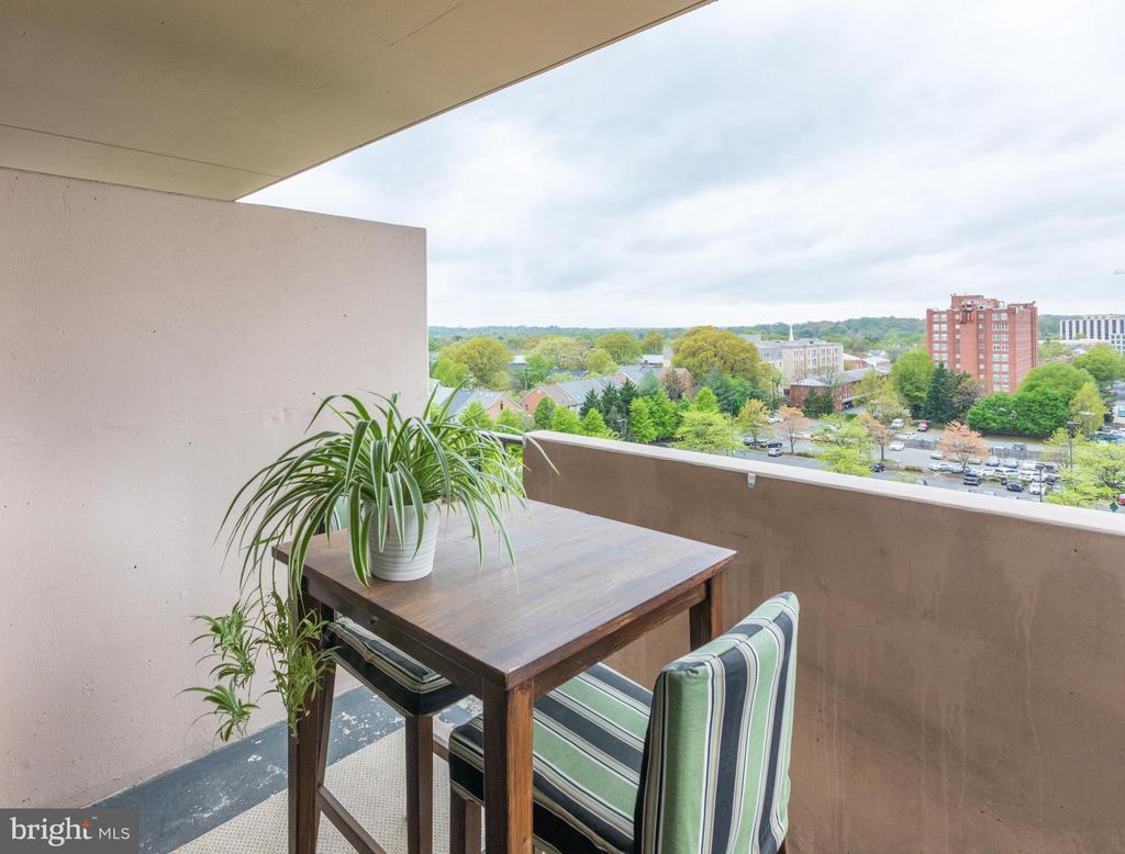 Balcony - 4141 HENDERSON RD #815, ARLINGTON