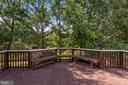 View of trees and shade on your new deck. - 31 AURELIE DR, FREDERICKSBURG
