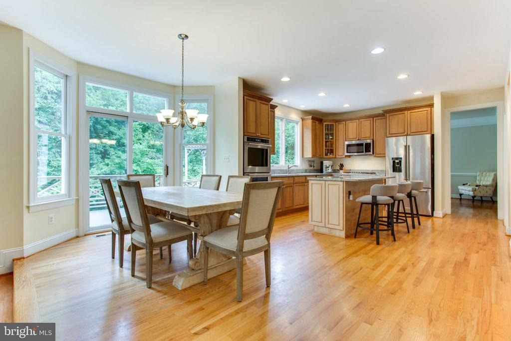 Eat in Kitchen with Separate Breakfast Area - 12000 CREEKBEND DR, RESTON