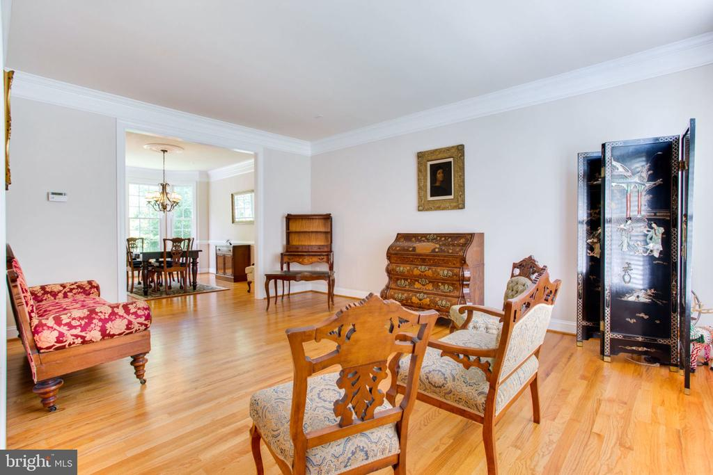 Spacious Living Room - 12000 CREEKBEND DR, RESTON