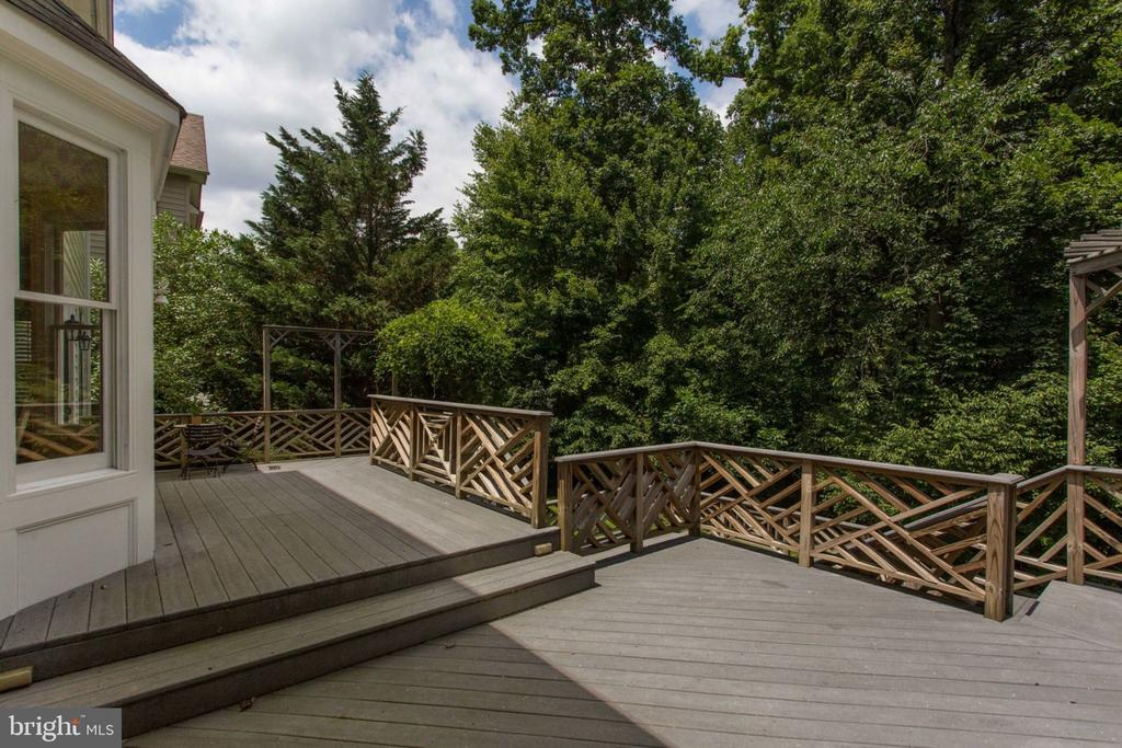 4 level Trex Deck - Home backing to Trees! - 12000 CREEKBEND DR, RESTON