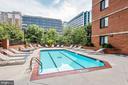 Pool and Hot Tub - 1001 N RANDOLPH ST #607, ARLINGTON