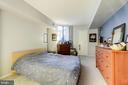 Master Bedroom - 1001 N RANDOLPH ST #607, ARLINGTON