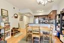 Dining Area - 1001 N RANDOLPH ST #607, ARLINGTON
