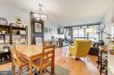 Open Living/Dining - 1001 N RANDOLPH ST #607, ARLINGTON