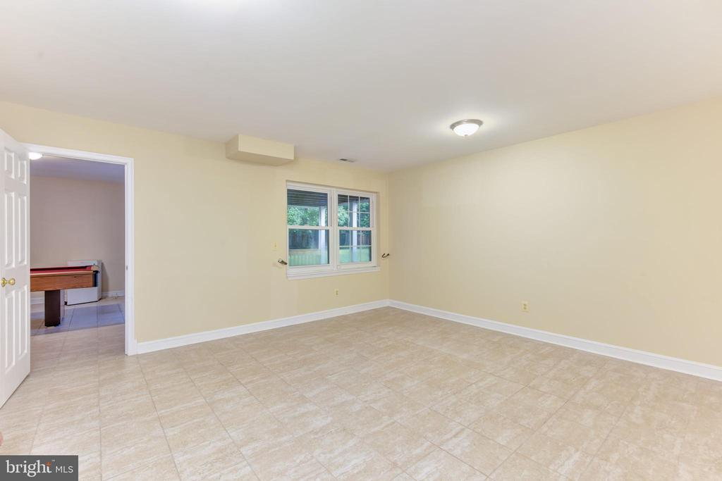 Lower level bedroom and bath - great for Au Pair - 4201 KIMBRELEE CT, ALEXANDRIA