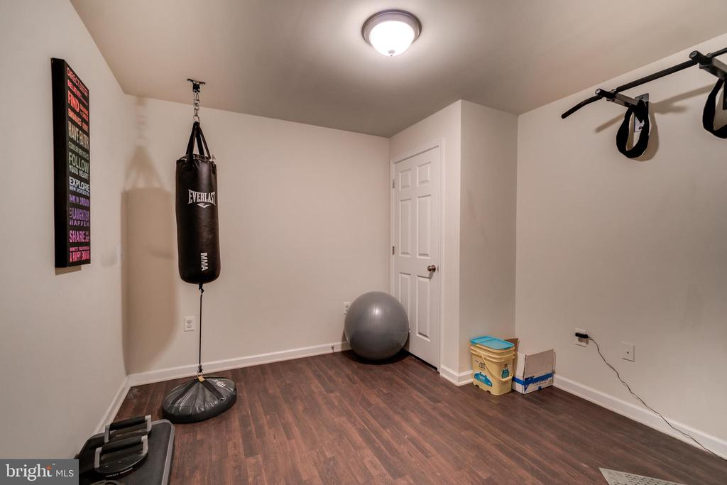 Gym/Multipurpose Room in Basement - 7 BEECH TREE CT, STAFFORD