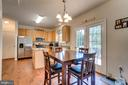 Breakfast Nook and French Doors - 7 BEECH TREE CT, STAFFORD