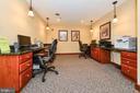 Common office/computer room - 1024 N UTAH ST #619, ARLINGTON