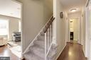 Front Entrance Foyer - 5720 CROWNLEIGH CT, BURKE