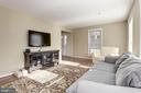 View of Living Room - 5720 CROWNLEIGH CT, BURKE