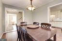 Perfect Size Separate Dining Room` - 5720 CROWNLEIGH CT, BURKE