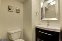 Main Level Powder Room = Remodeled - 5720 CROWNLEIGH CT, BURKE