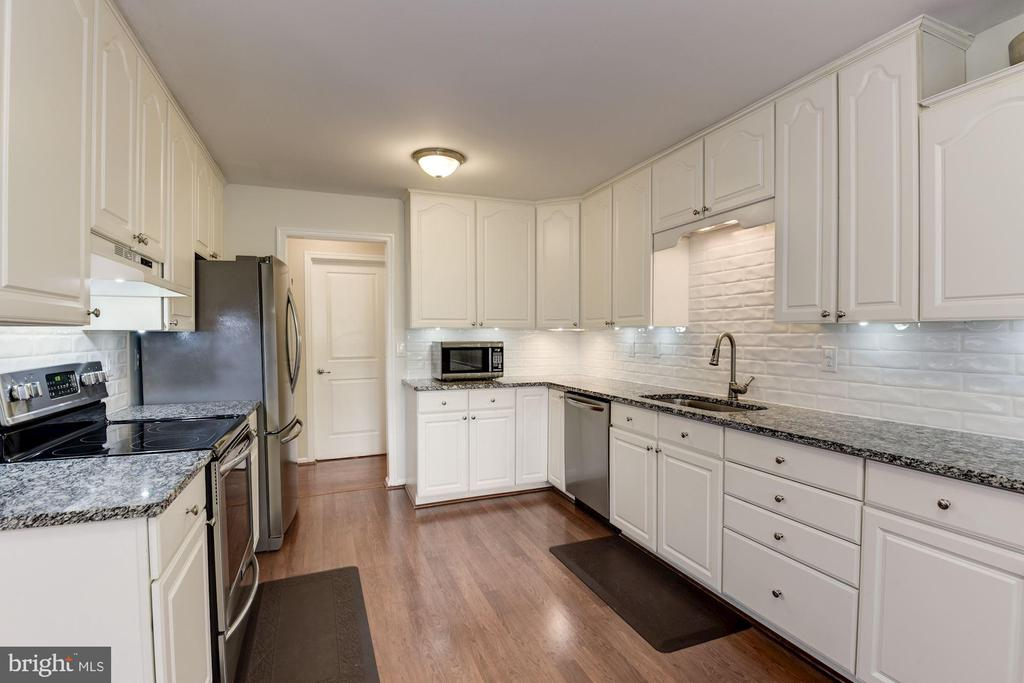 View of Kitchen for Breakfast Area - 5720 CROWNLEIGH CT, BURKE