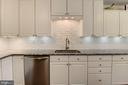 Kitchen Ceramic Tile Backspash - 5720 CROWNLEIGH CT, BURKE