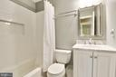 Downstairs Full Bath - 5720 CROWNLEIGH CT, BURKE