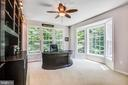 Study with bay window and built-ins - 60 MAIDENHAIR WAY, STAFFORD