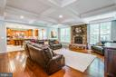 HUGE Family room with Coffered ceilings - 60 MAIDENHAIR WAY, STAFFORD