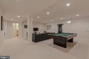 Lower Level Recreation Room - 3406 N DICKERSON ST, ARLINGTON