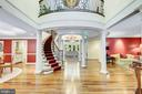 Welcoming Beautiful Curved Staircase - 11552 MANORSTONE LN, COLUMBIA