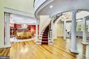 Beautiful Curved Staircase - 11552 MANORSTONE LN, COLUMBIA