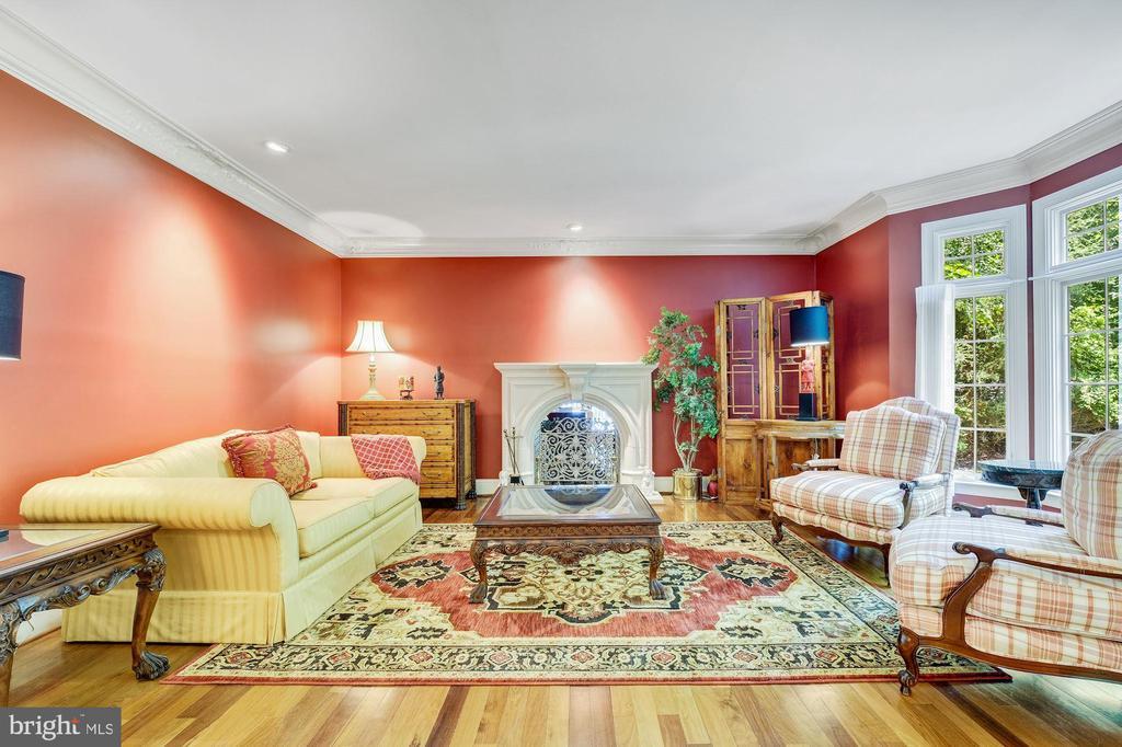 Living Room - 11552 MANORSTONE LN, COLUMBIA