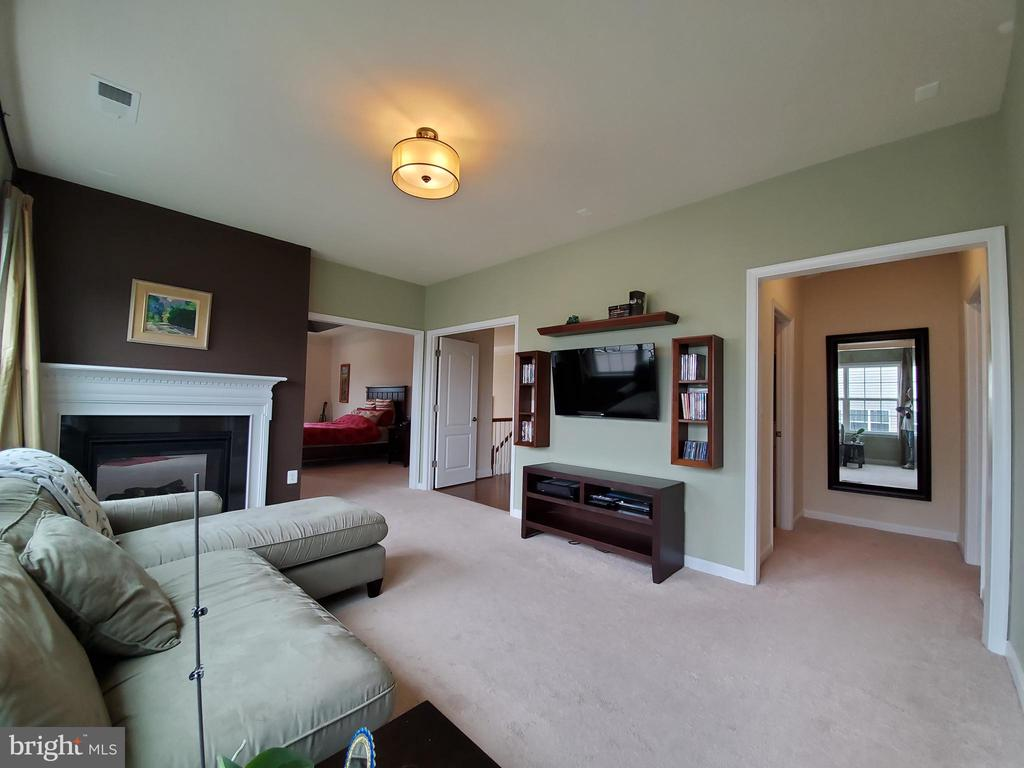 Those are the dual walk-in-closets to the right. - 41882 SCOTCHBRIDGE PL, ASHBURN