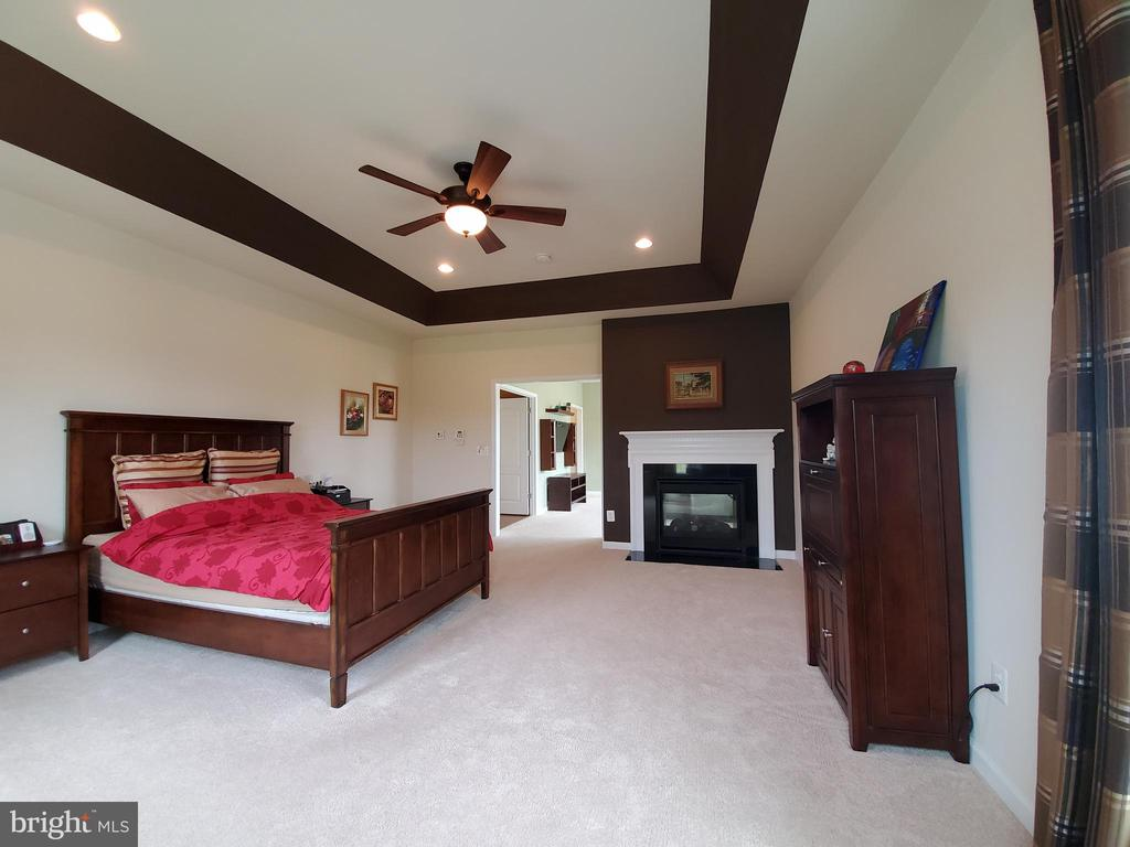 Wide open spaces in this direction too. - 41882 SCOTCHBRIDGE PL, ASHBURN