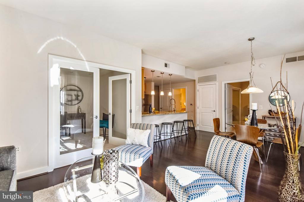 Open concept floor plan - 888 N QUINCY ST #210, ARLINGTON