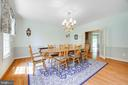 Dining Room - 12100 WALNUT BRANCH RD, RESTON