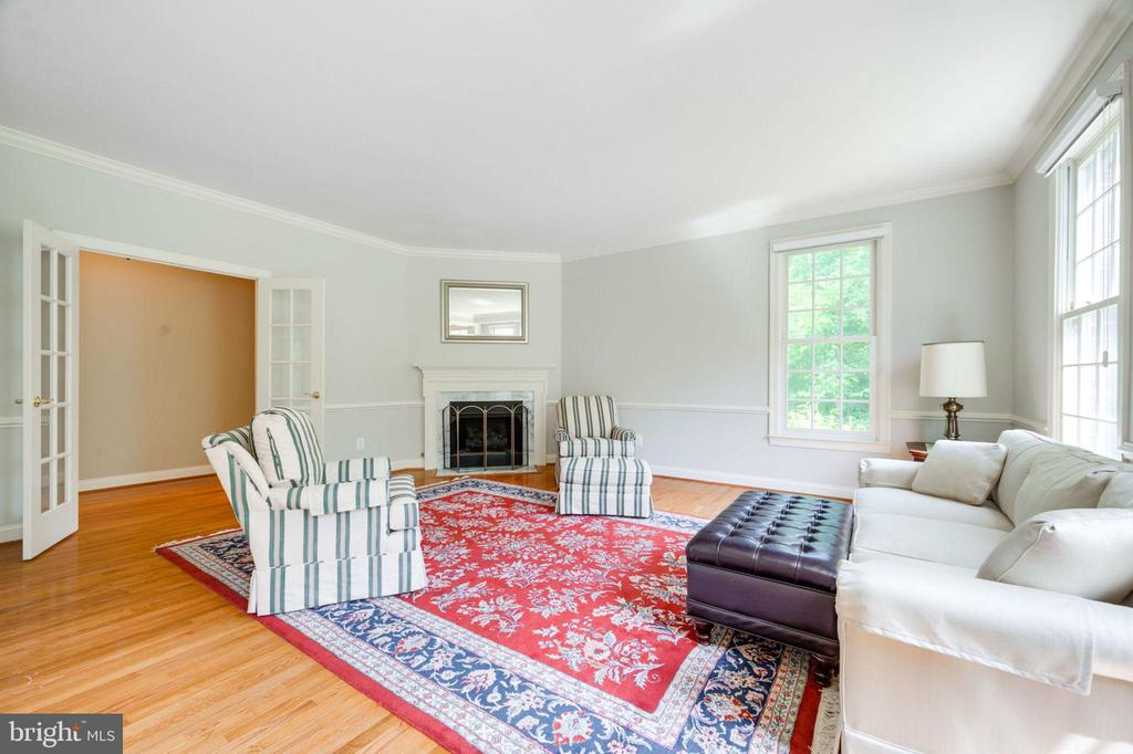 Living Room - 12100 WALNUT BRANCH RD, RESTON
