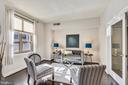 Living room - 888 N QUINCY ST #210, ARLINGTON