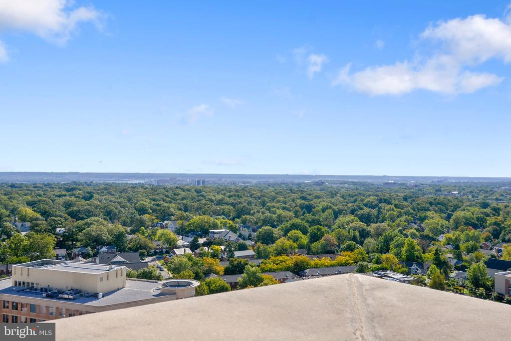 Panoramic view from the rooftop - 888 N QUINCY ST #210, ARLINGTON